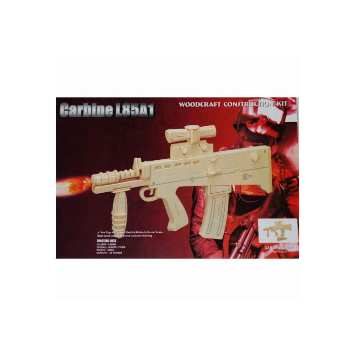 Houten bouwpakket Carbine L85A1 geweer