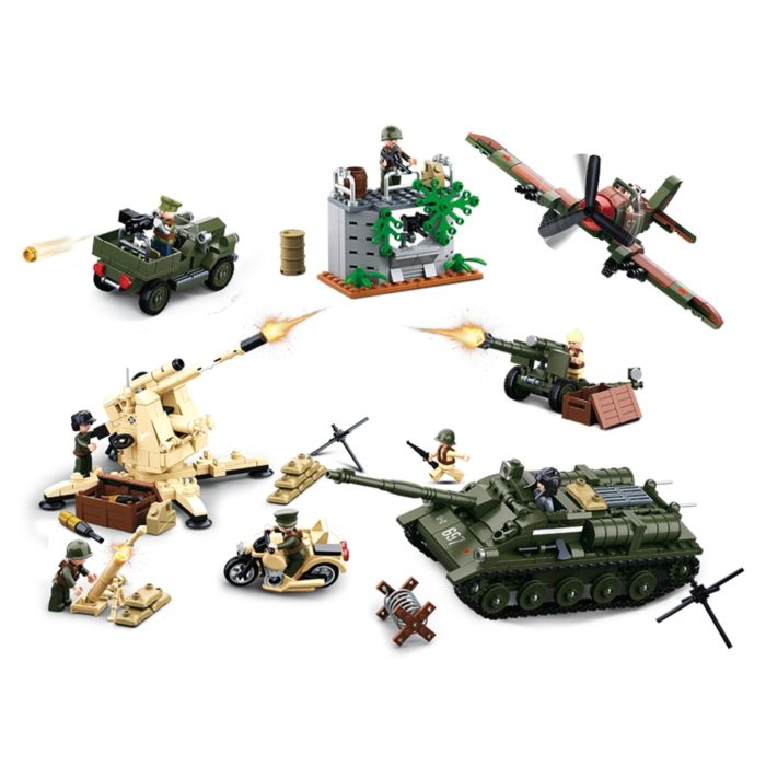 Sluban WWII Battle Of Kursk M38-B0697