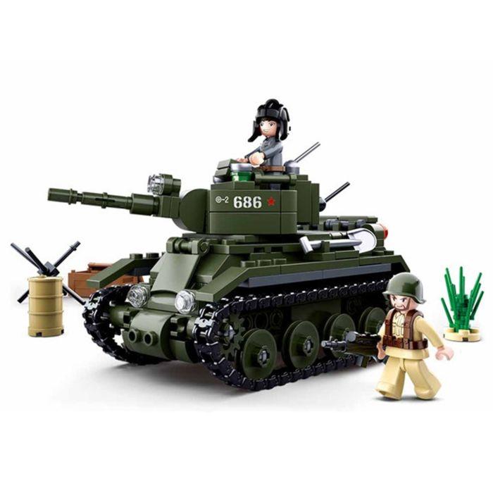 Sluban WWII Allied Cavalry Tank M38-B0686
