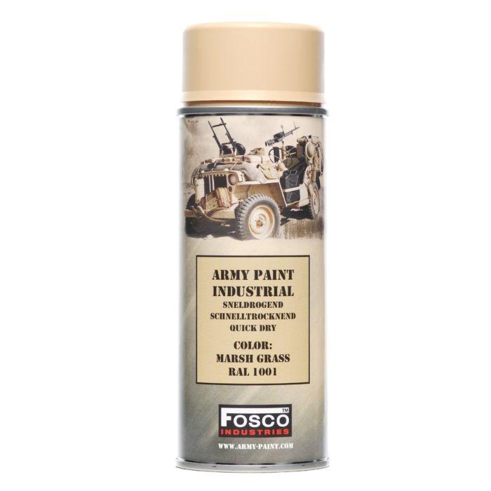 Fosco spuitbus legerverf 400ml Flat Marsh Grass (mat beige)