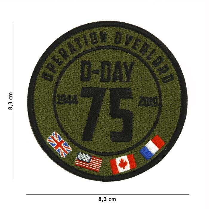 Embleem D-Day 75 Years stof
