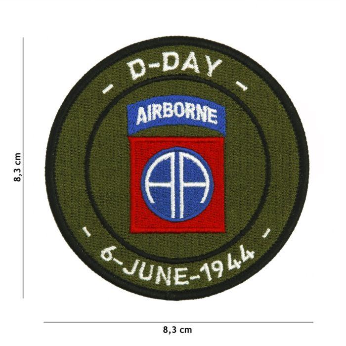 Embleem D-Day 82nd Airborne stof