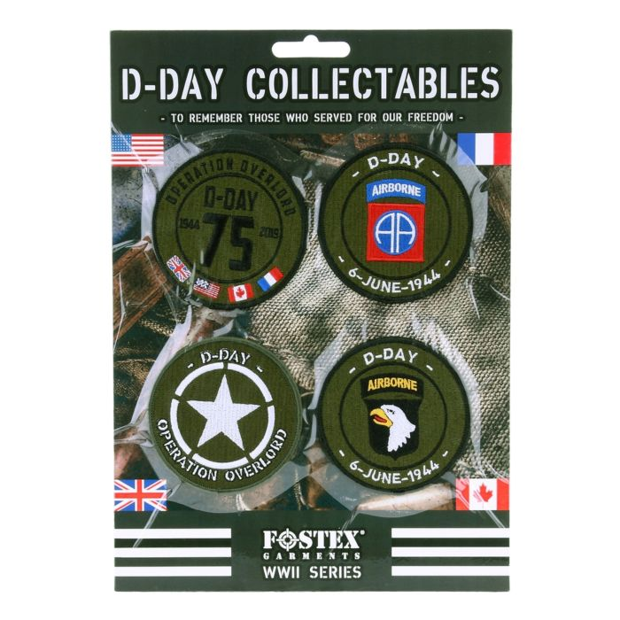 Embleem assorti D-Day collectables