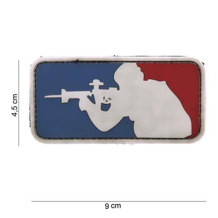 Embleem 3D PVC Major League Sniper