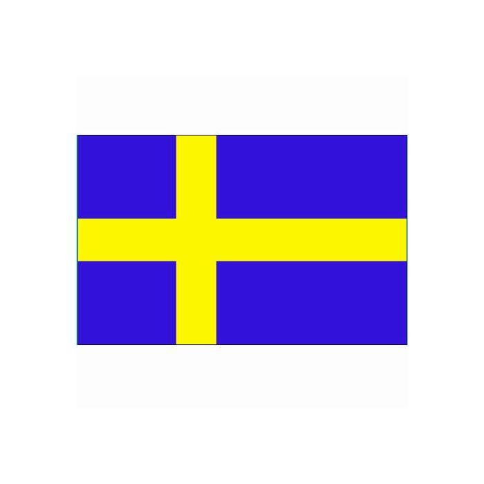 Vlag Zweden, Zweedse vlag