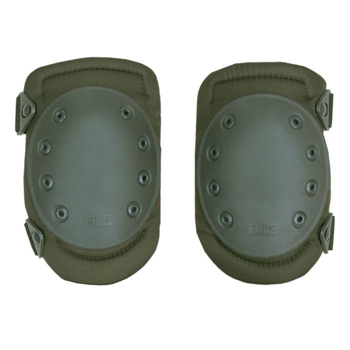 Knie beschermers groen