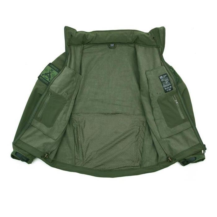 101inc Softshell Jacket Tactical groen
