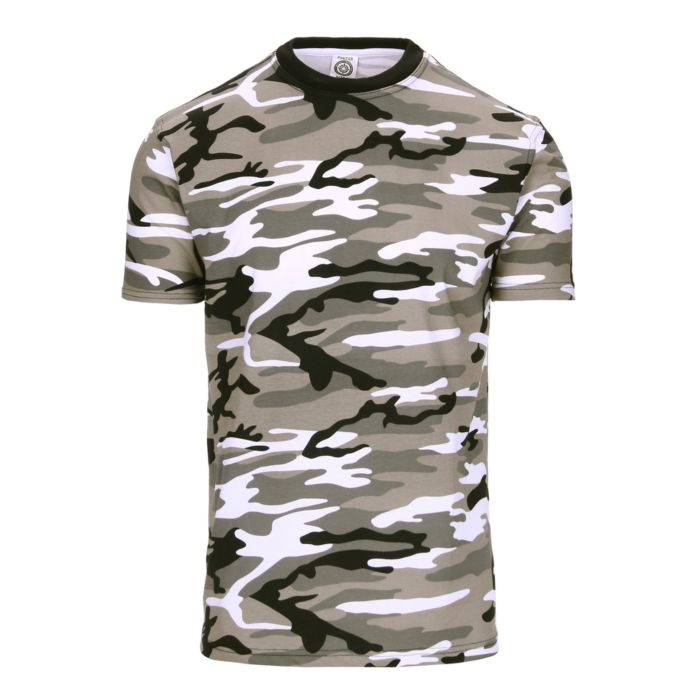 Fostee camouflage t-shirt urban camo