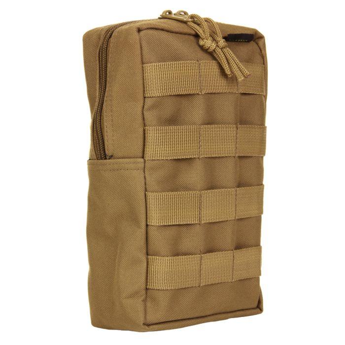 101inc Molle pouch Upright khaki