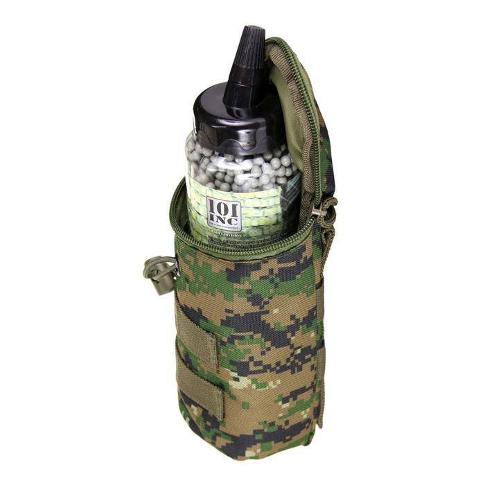 101Inc Molle pouch airsoft BB fles digital WDL camo