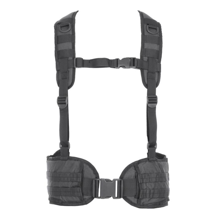 101inc Tactical belt with harnas Wolf Grey