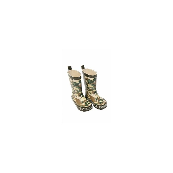 Kaplaarzen kinder camo PVC, soldaten laarzen