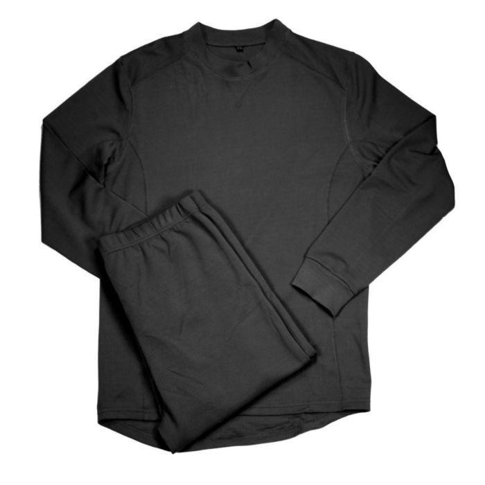 Fostex thermo ondergoed set zwart