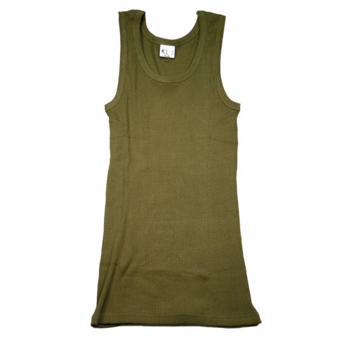 Fostex KL rib hemd (singlet) groen