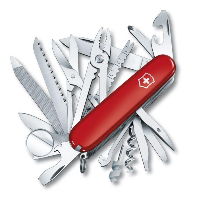 Victorinox zakmes SwissChamp 33 functies rood