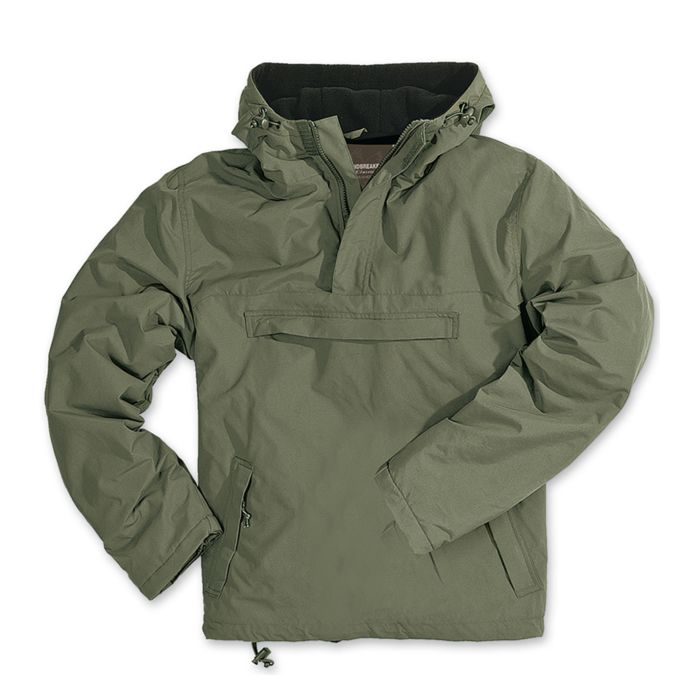 Surplus anorak windbreaker jack groen