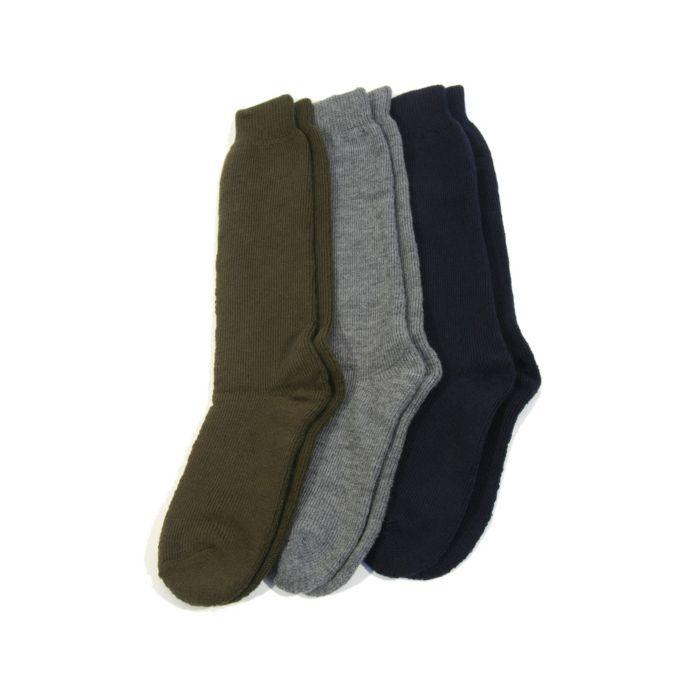 thermo sokken blauw