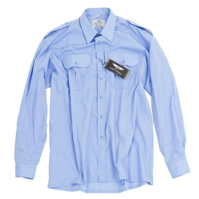 Uniform overhemd L/M licht blauw