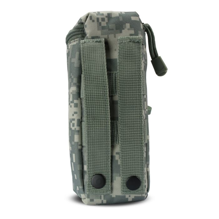 101Inc Molle pouch airsoft BB fles digital ACU camo