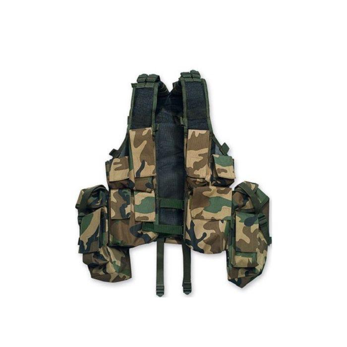 Fostex tactical vest woodland camo