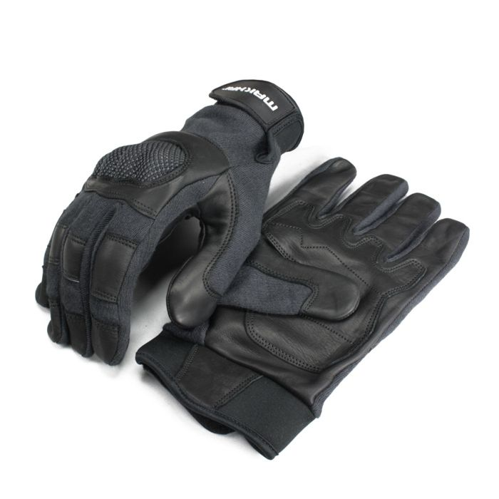 Makhai Combat Gloves snijwerende handschoenen zwart