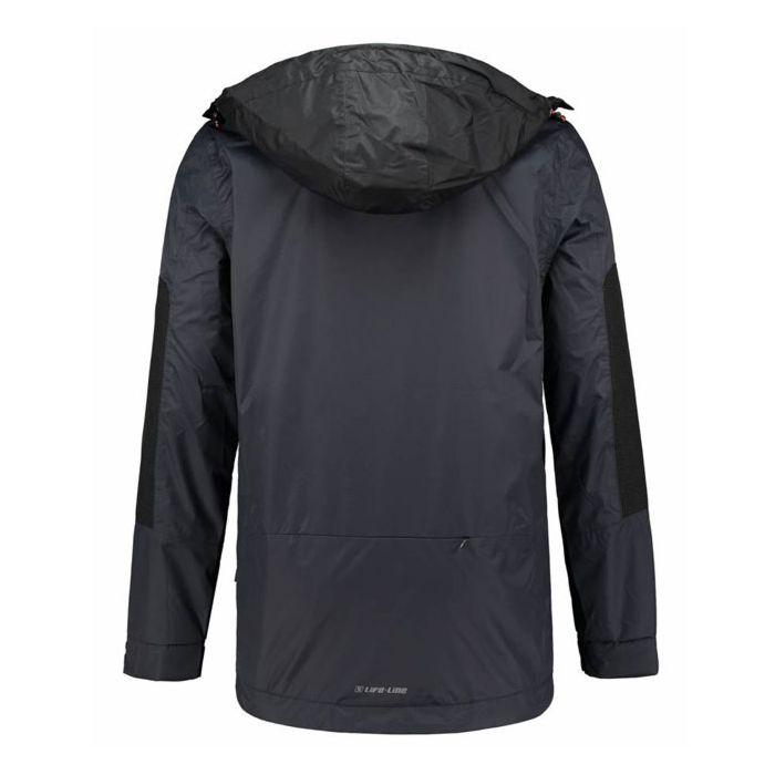 Life-Line Hoang packable zomerjas dark grey