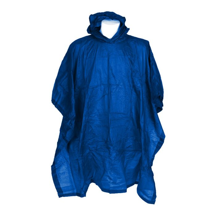 Fostex regen poncho blauw