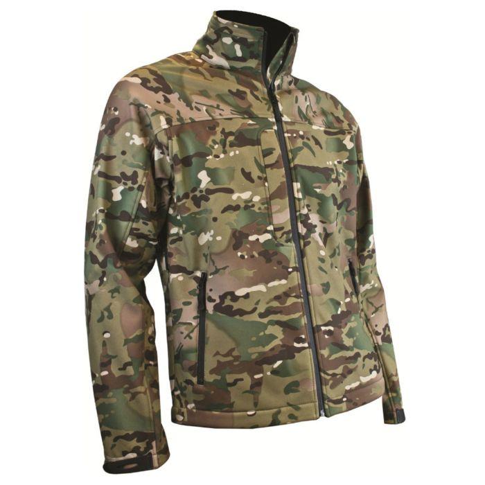 Highlander Odin Softshell Jacket HMTC multi camo