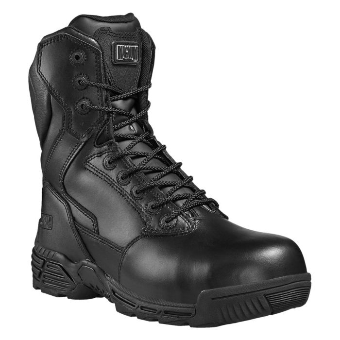 Magnum Stealth Force 8.0 leather CTCP zwart