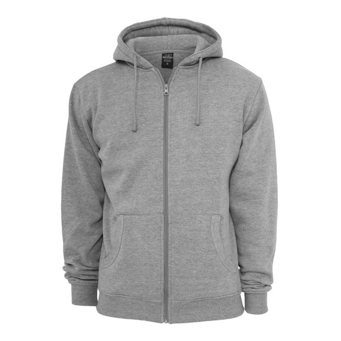 Urban Classics Relaxed Zip Hoody grey