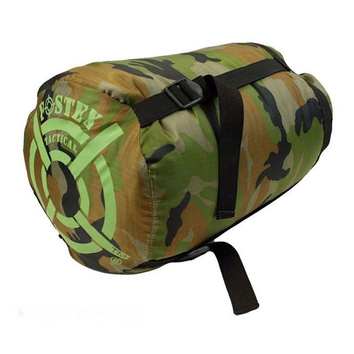 Fostex slaapzak Sniper mummy woodland camouflage