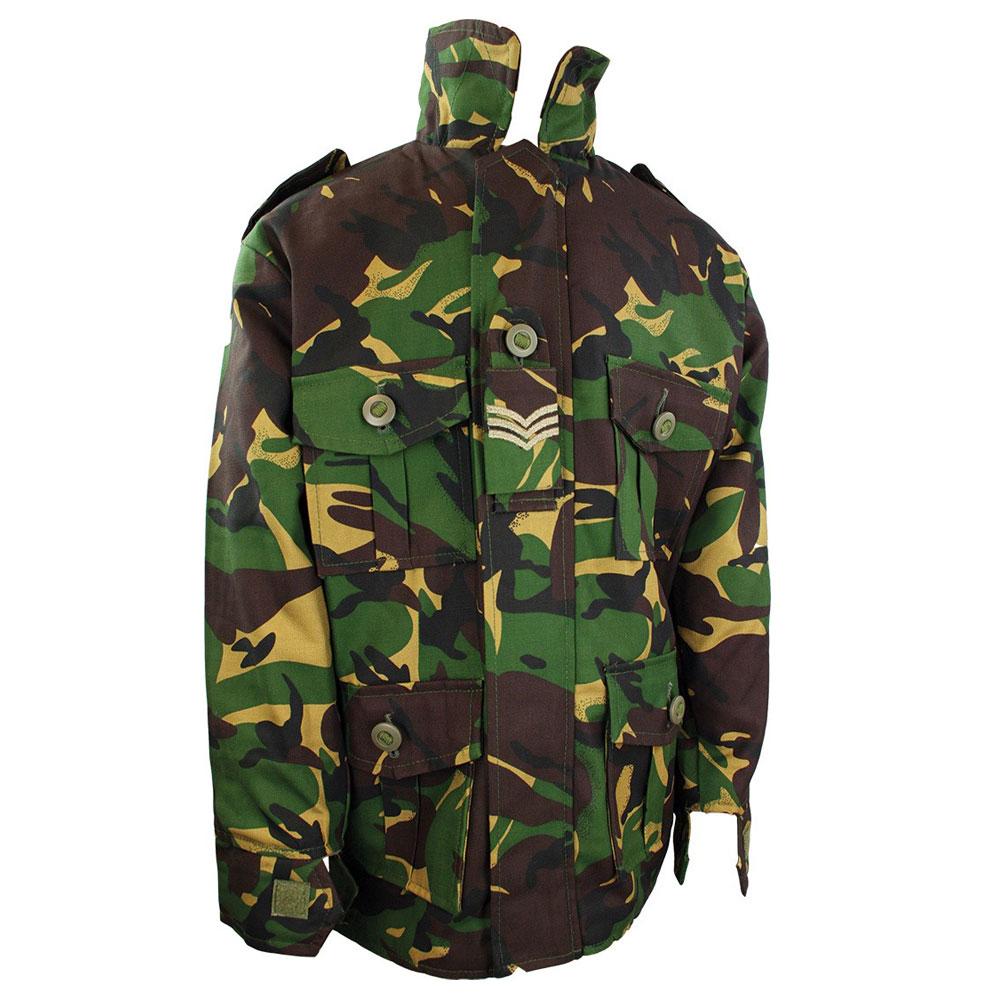 Highlander Kids Combat Jacket Britisch Camo DPM